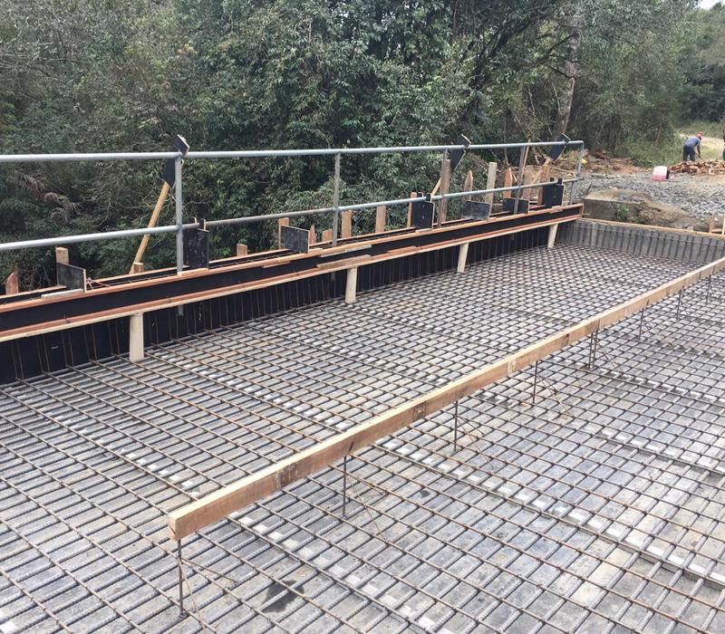 Ponte Rodoviária Concretada In-loco