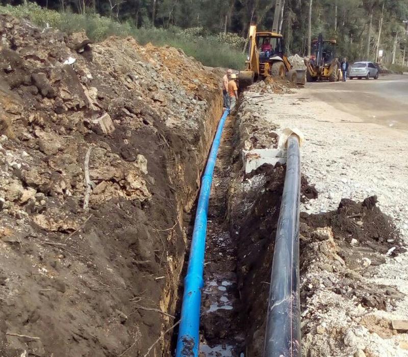 Rede de Água e Esgoto para Condomínios